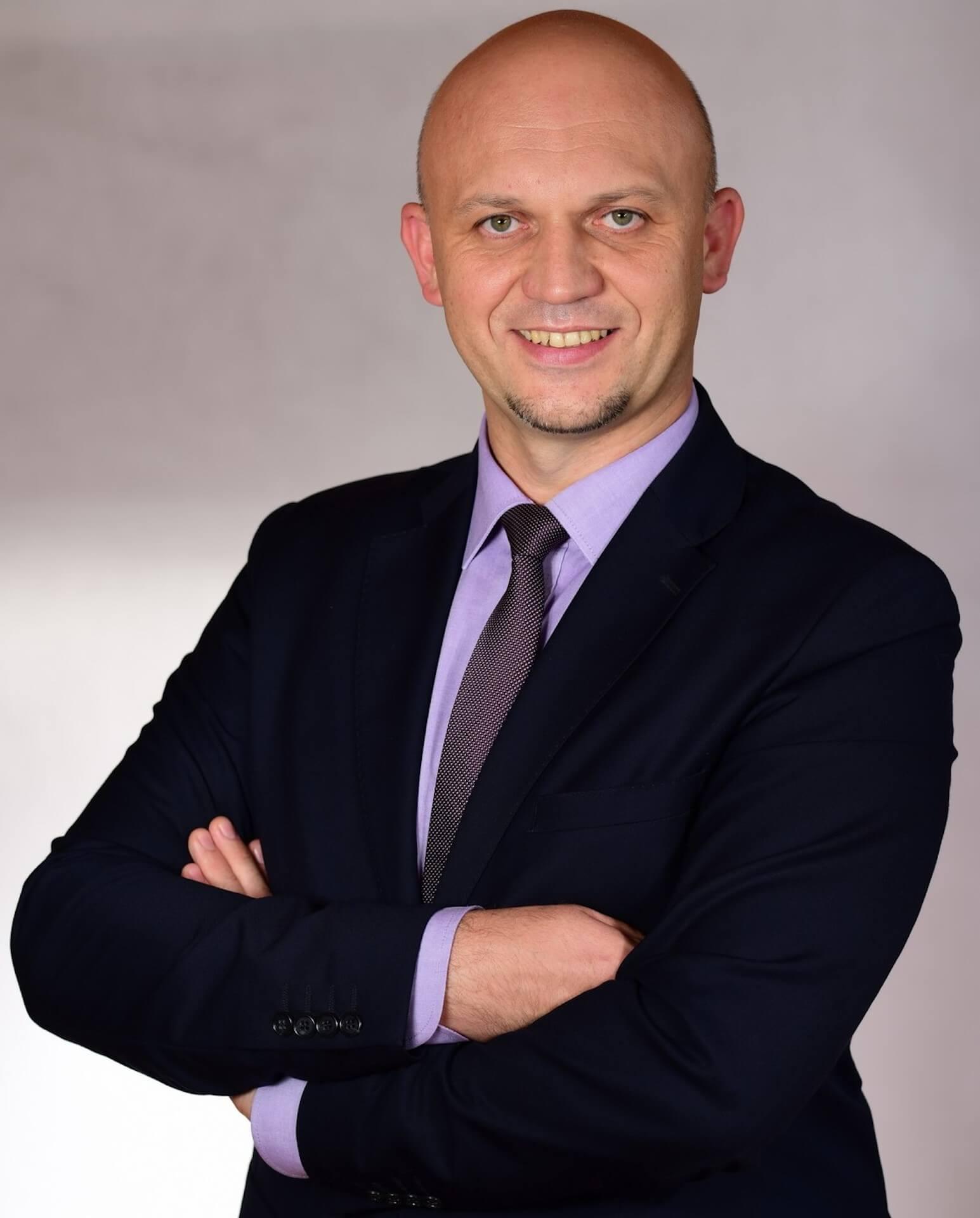 Piotr Grubek Prezes Mareckich Inwestycji Miejskich Sp. z o.o.